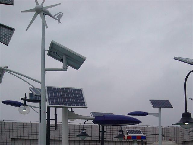 太阳能路灯发电